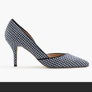 J Crew Collette D'Orsay Pumps in Houndstooth